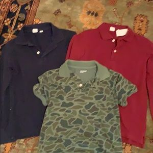Bundle of boys' polos